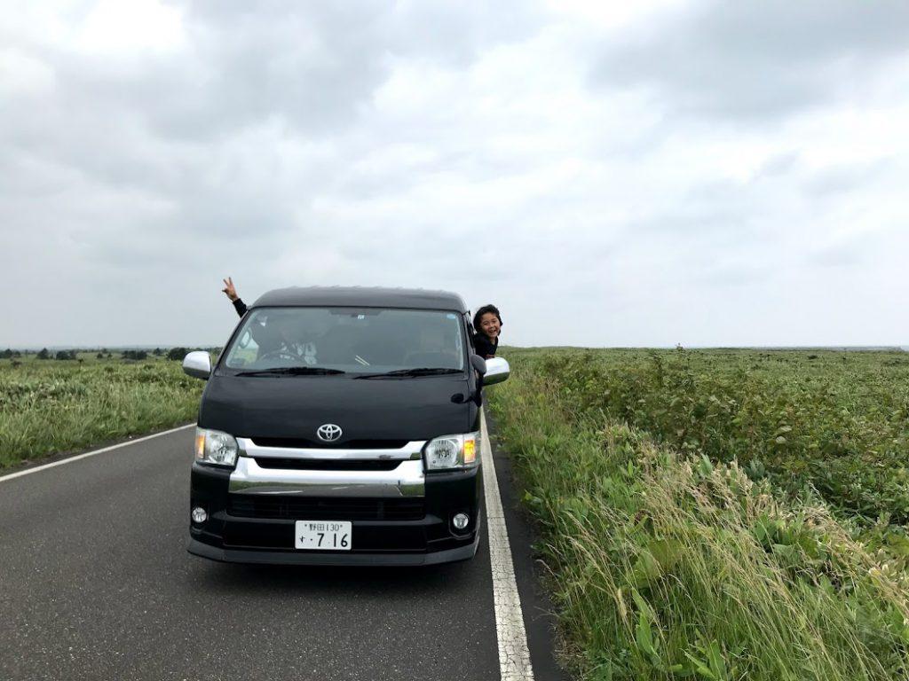 北海道一周車中泊旅5日目:宗谷岬からひたすらオホーツク海沿いにドライブ