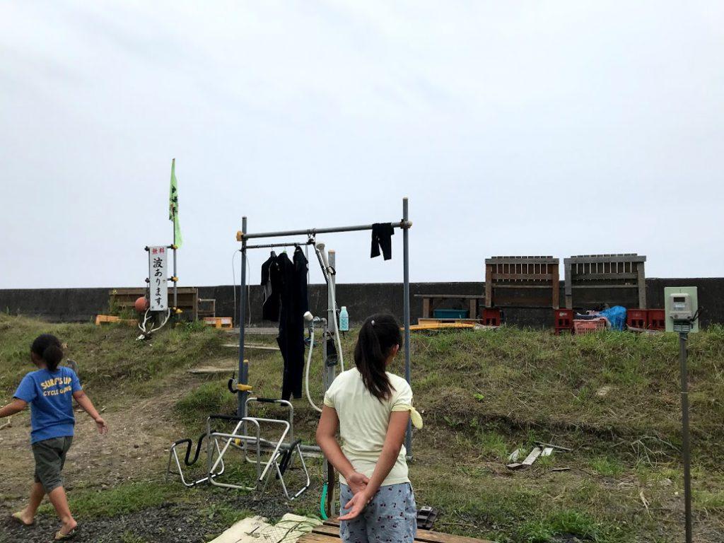 北海道一周車中泊旅6日目:太平洋のサーフポイント