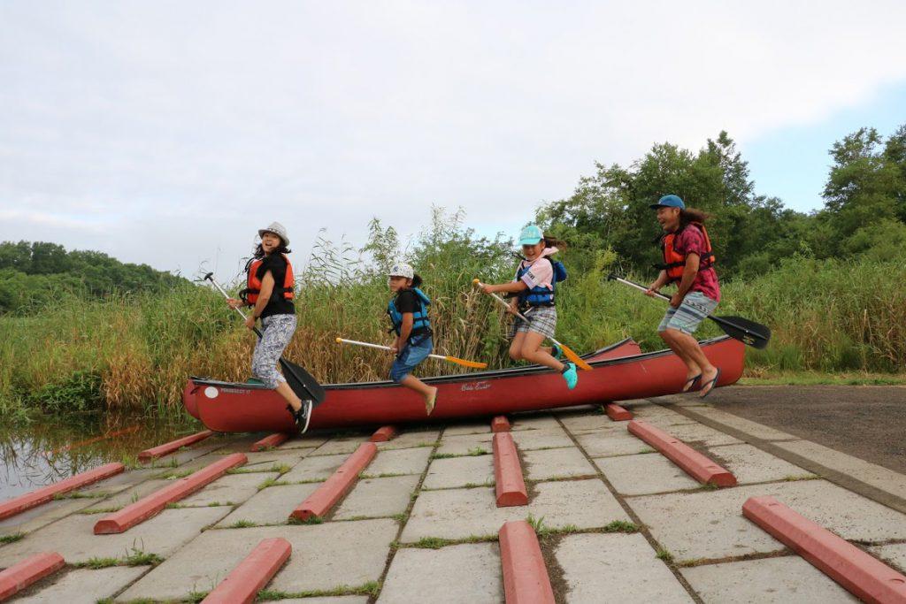 北海道一周車中泊旅7日目:千歳の美々川で気持ちいい早朝カヌー