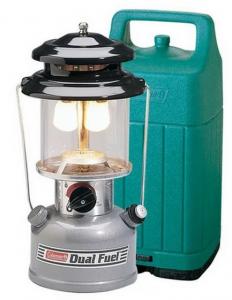 Coleman/Premium Dual Fuel Lantern 【ケース付き】 キャンピングランタン