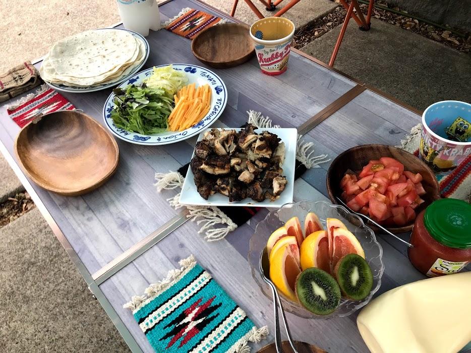 昼食メニュー1:タコス