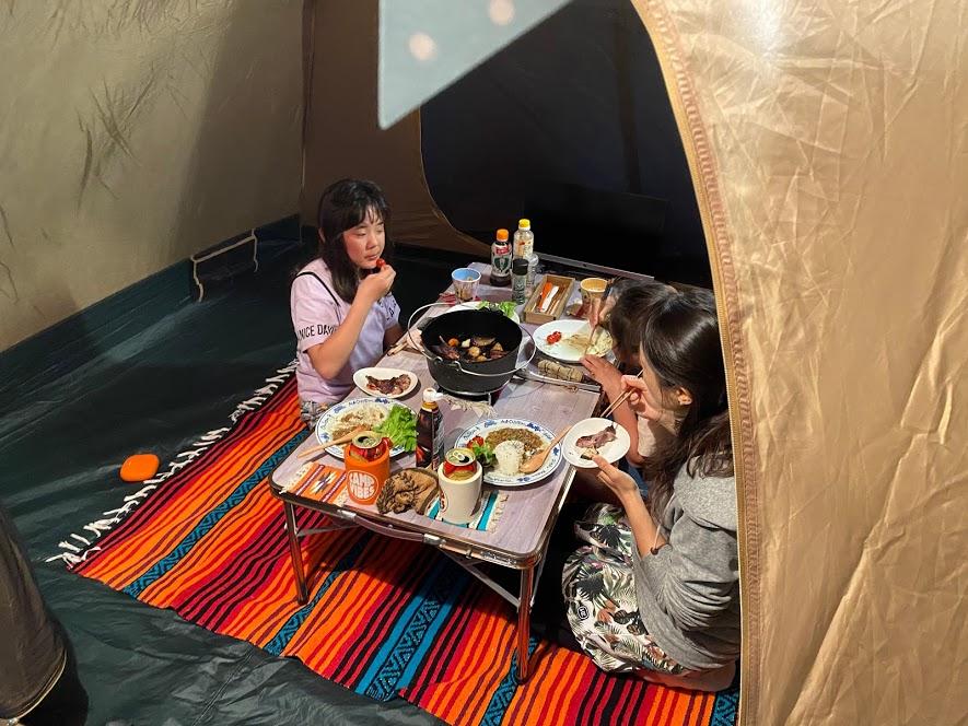 お家キャンプグッズ2:テント