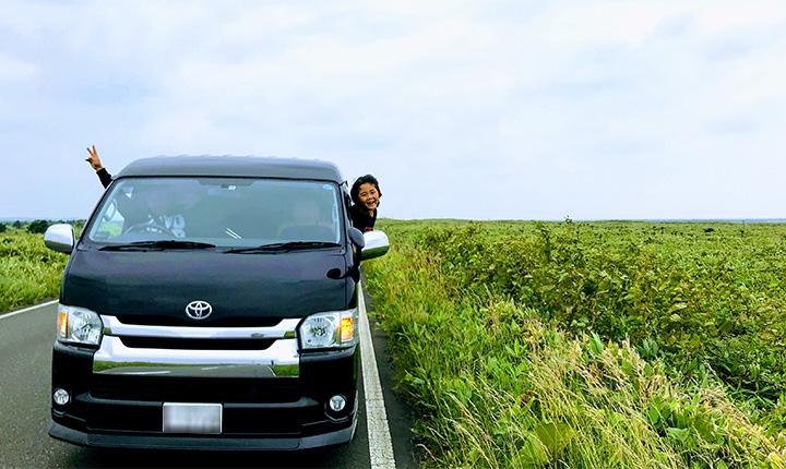 グリーンシーズンは車中泊旅を続行中(←今ここ)