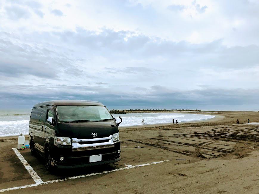 都心からすぐの九十九里の海はおすすめ車中泊スポット