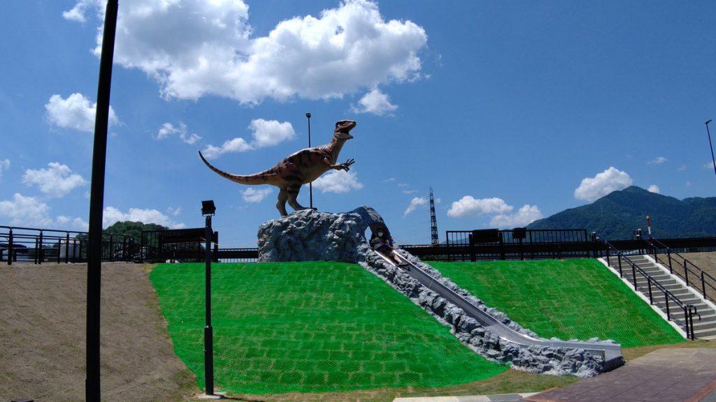 道の駅恐竜渓谷かつやま
