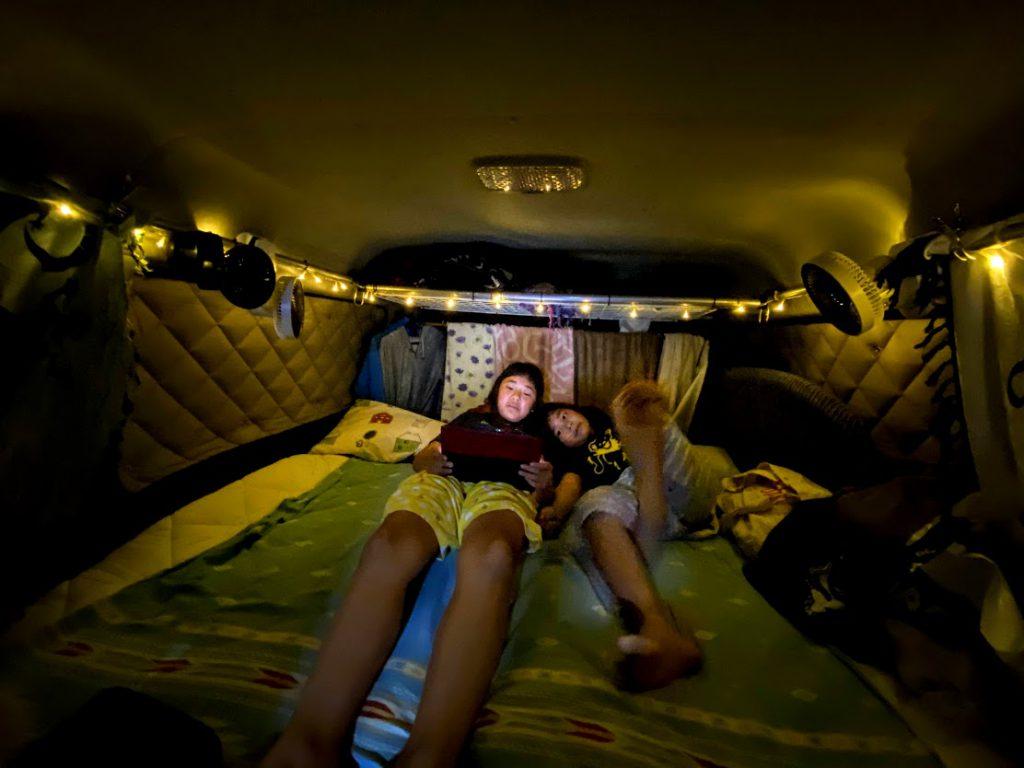 車中泊をさらに楽しくするグッズ:飾り用LEDライト