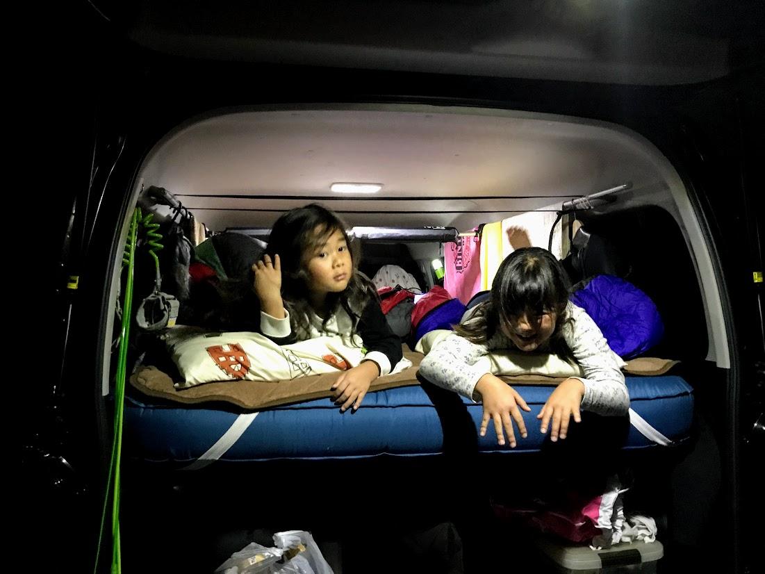車中泊寝具:車中泊マット