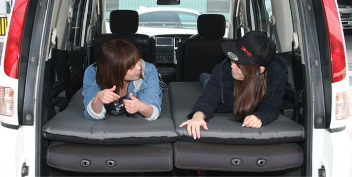車中泊マットおすすめ:QUICKCAMP(クィックキャンプ)車中泊マット8cm
