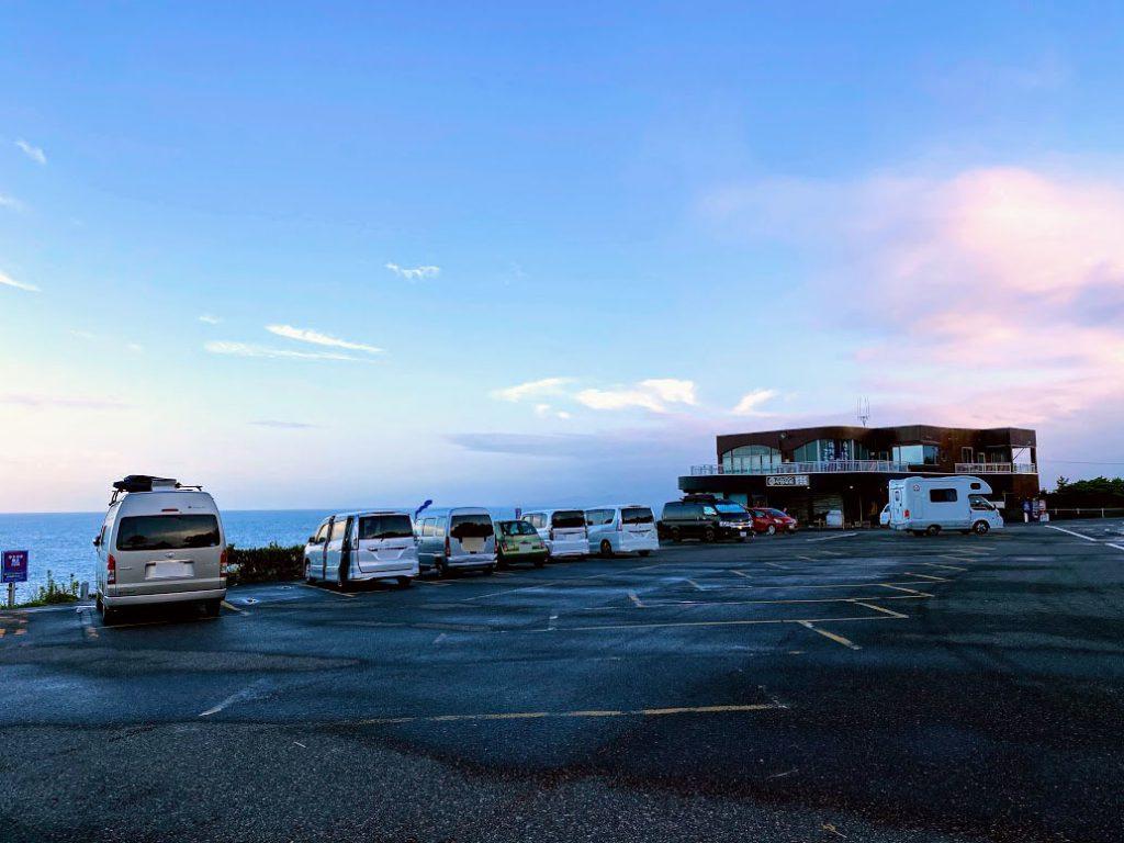 和歌山の白浜観光の車中泊に便利な「千畳敷駐車場」