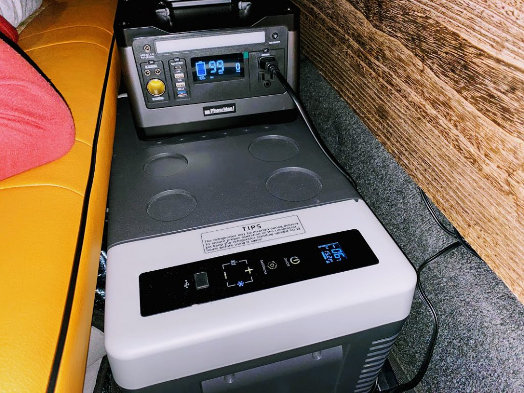 Phewmanポータブル電源:電気毛布とポータブル冷蔵庫の併用はどれくらい使えるか