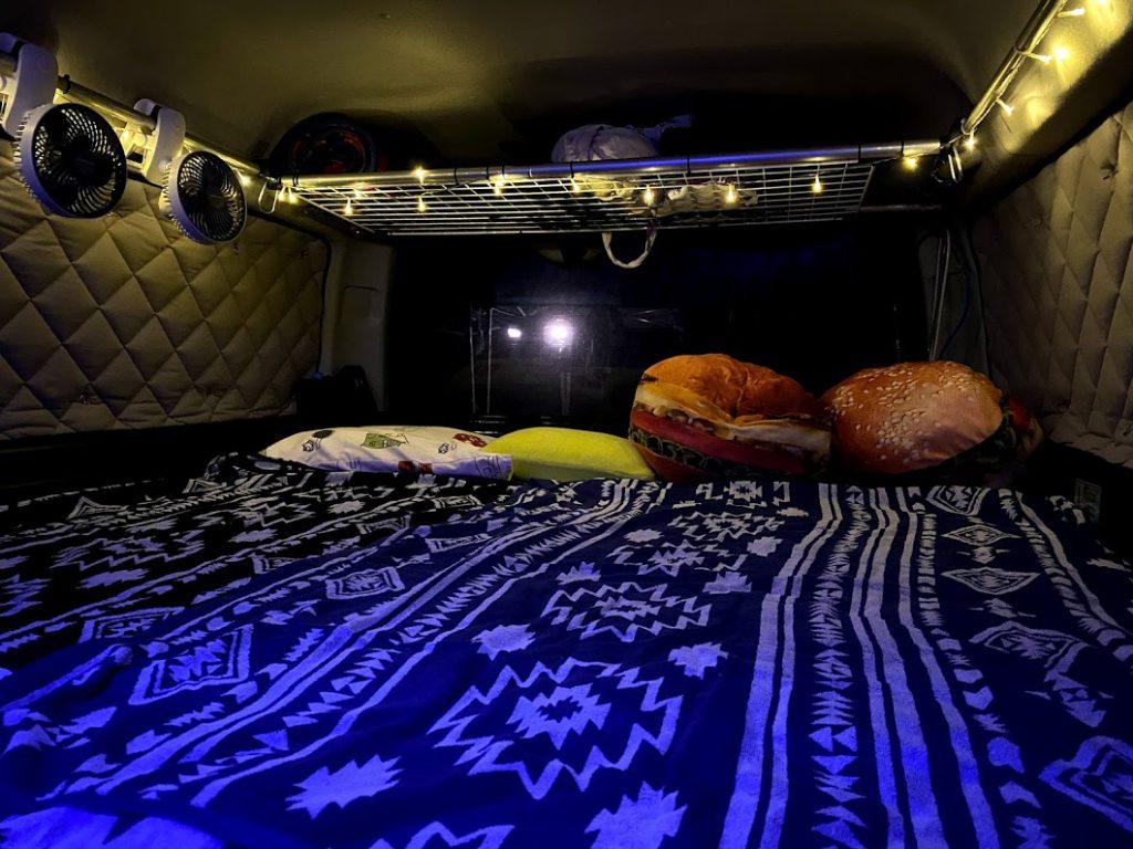 車中泊に必要な準備:快適に眠れる環境を用意する