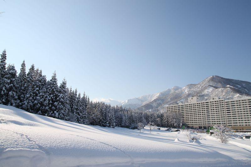 スキー場近くのリゾートマンション