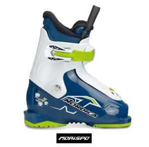 NORDICA TEAM 1 BK/W/LIME ノルディカ チーム 18-19 スキーブーツ ジュニア 子供用