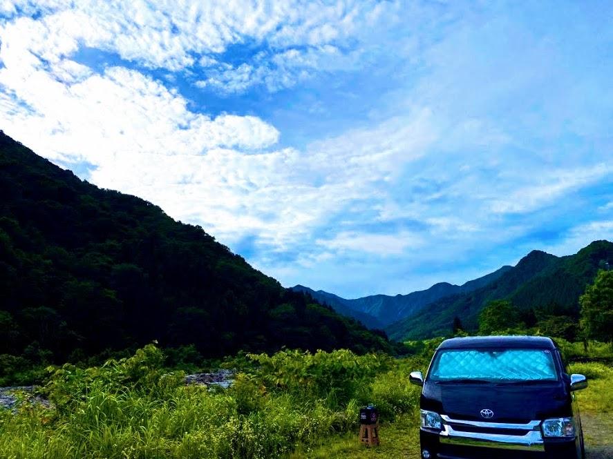 車中泊の楽しみ方2:自然溢れるとっておきの場所に泊まる