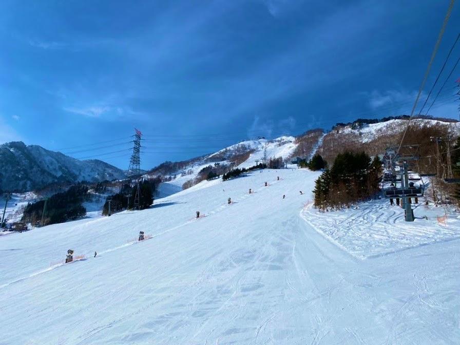 2020年12月の苗場スキー場