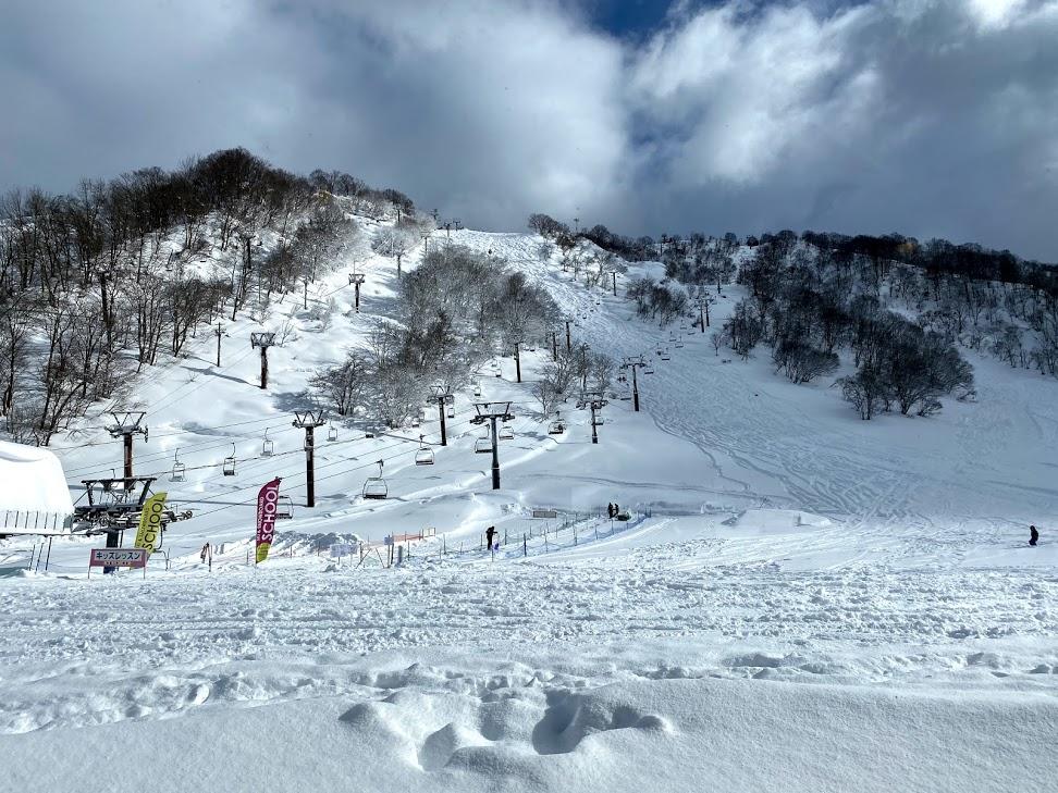 2020年12月の湯沢中里スキー場