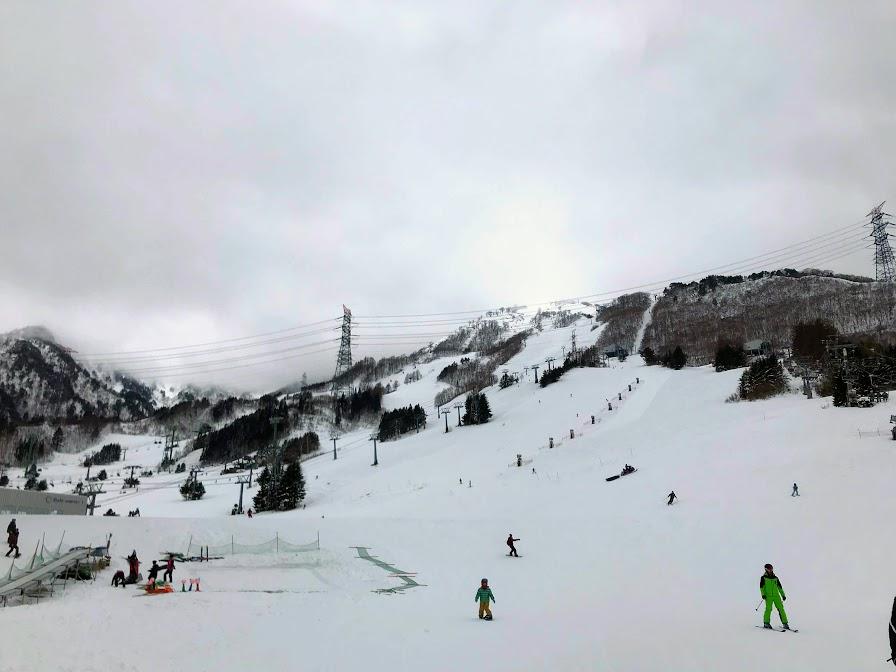 2020年1月の苗場スキー場
