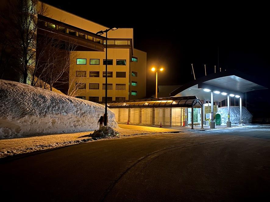 グリーンピア津南スキー場 車中泊 トイレ、洗面などの設備