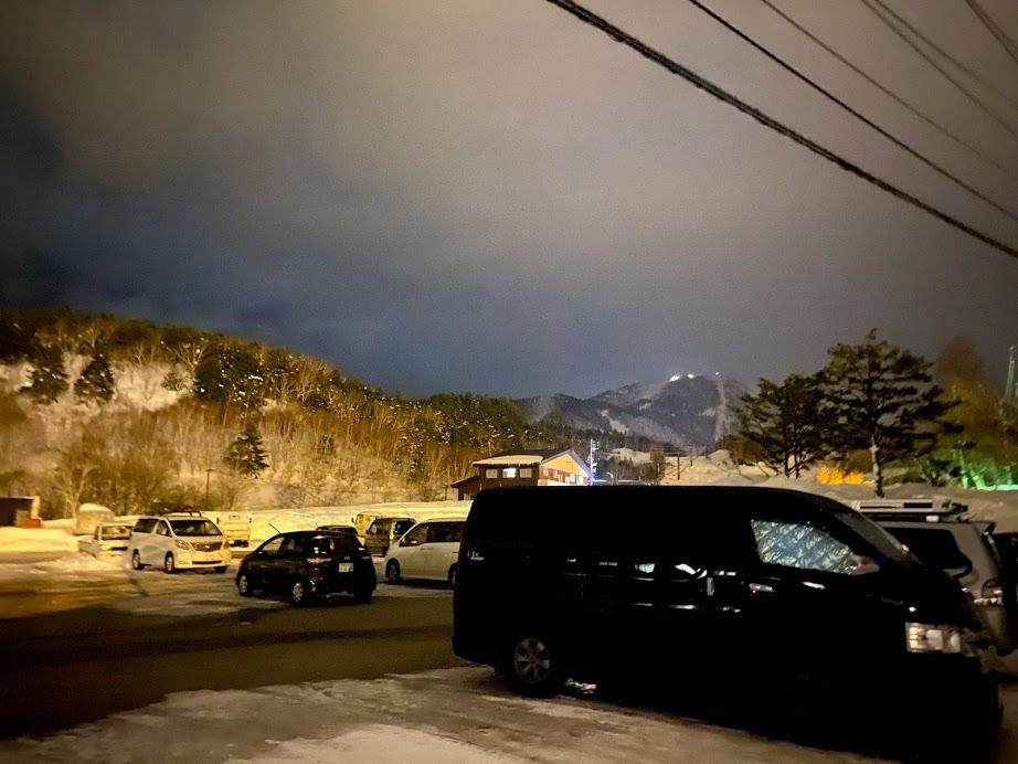 志賀高原 横手山・渋峠スキー場 車中泊