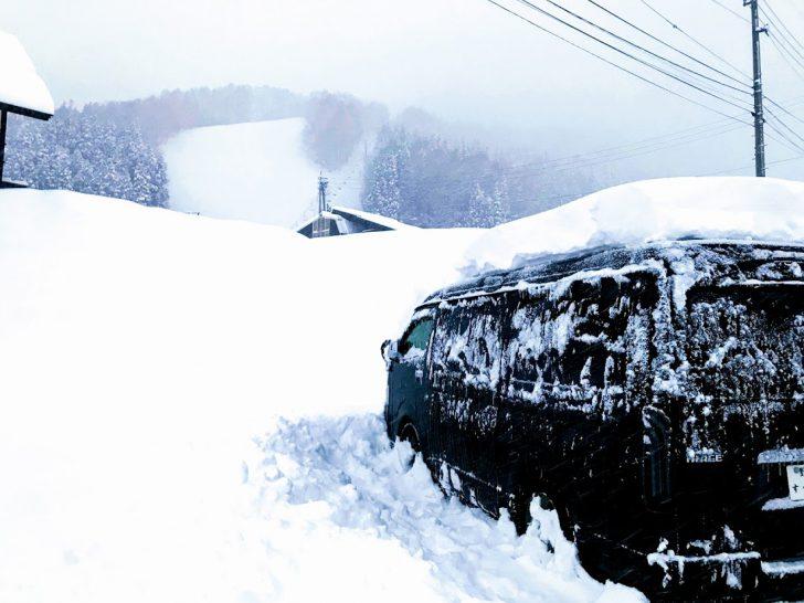 スキー場での車中泊で気をつけるポイント
