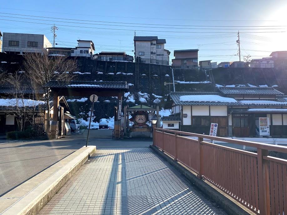 渋温泉有料駐車場