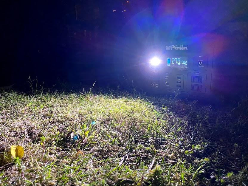 LEDライトが災害時にも役立つ