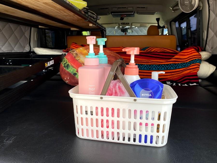 4.お風呂セットは常に車に積んでおくべし