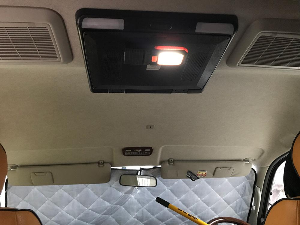 サーフィン車中泊グッズ:LEDランプ
