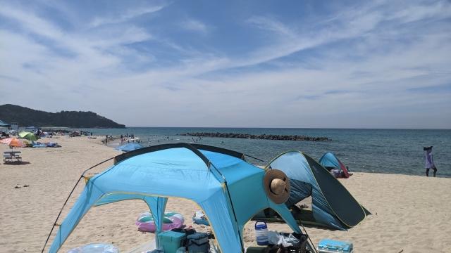 海で過ごすのに適したテントの選び方