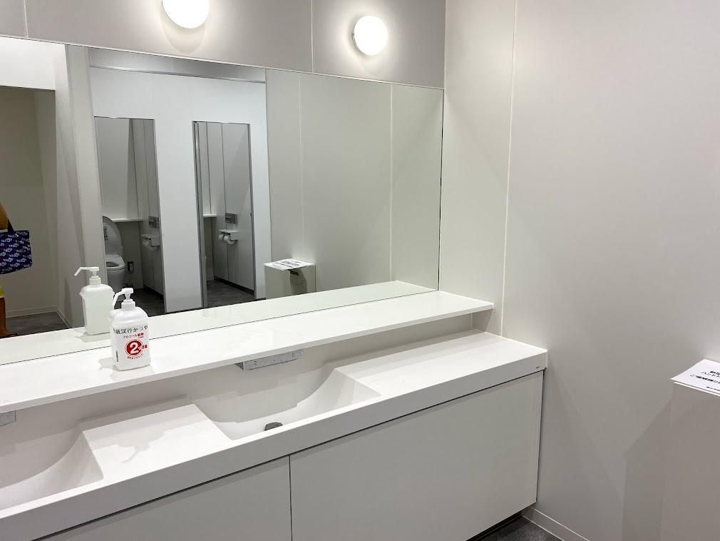 道の駅のトイレ