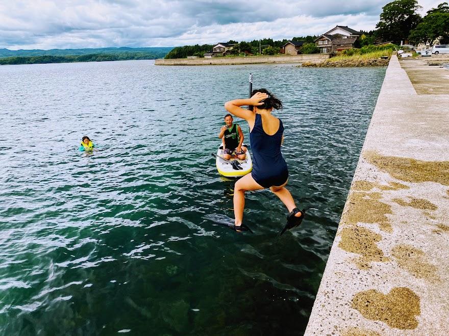能登半島で子供達に最高の夏休みを