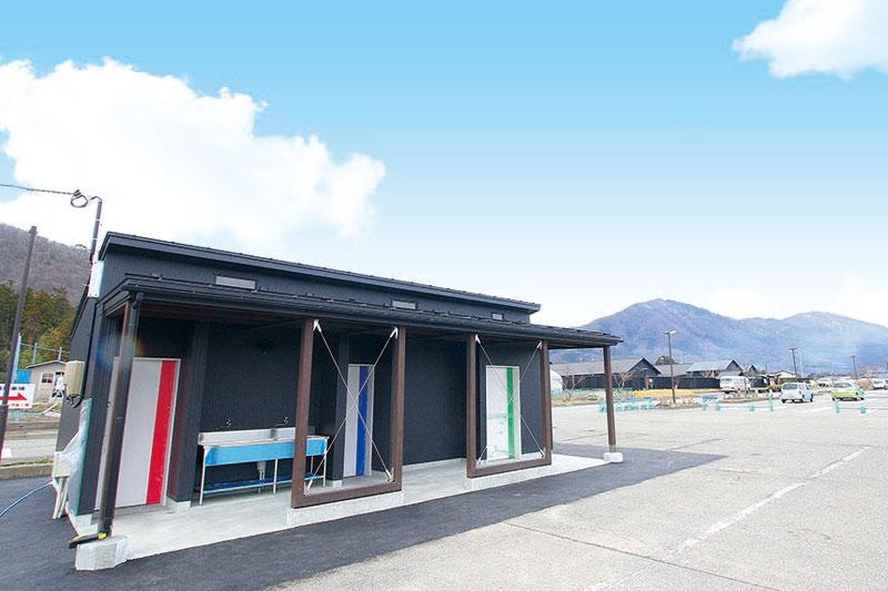 RVパークやオートキャンプ場のトイレ